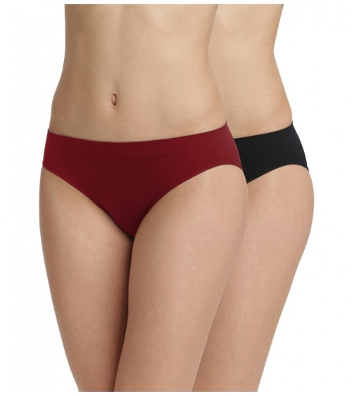 Low Seamless Panties elastic Briefs 2-Pack UNNO DIM