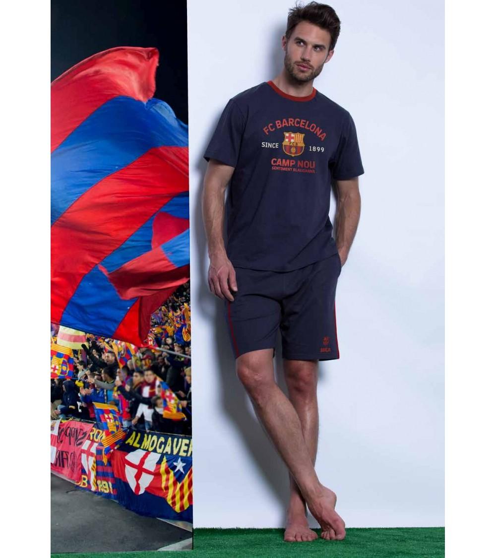 Short sleeve pajamas F.C.BARCELONA