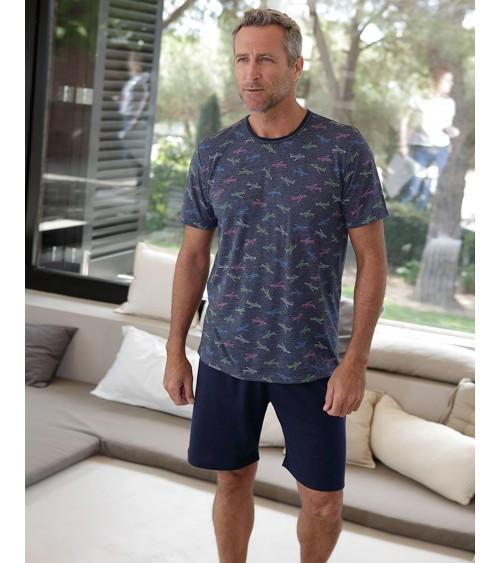 Pyjama d'été pour homme MASSANA Extra doux au toucher