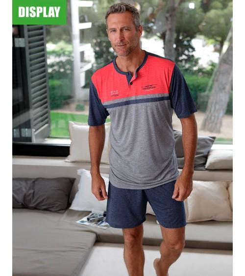 Mens summer Pyjama Set MASSANA Extra soft touch