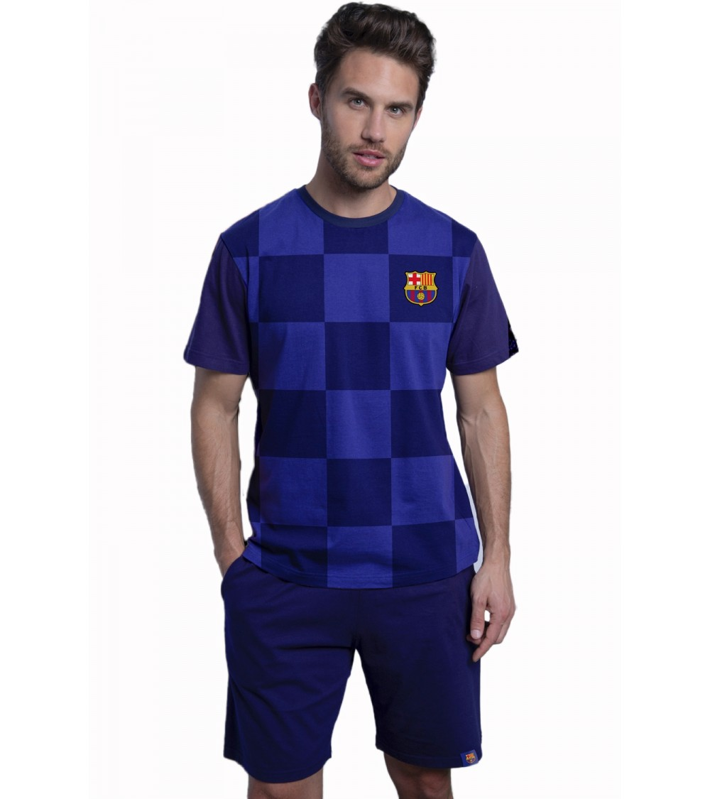 Short sleeve pajamas F.C.BARCELONA