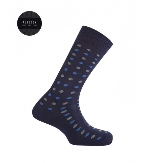 Punto Blanco cotton socks with polka dots