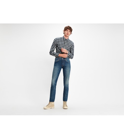 Levis 511 Slim Fit Cioccolato Cool Jeans
