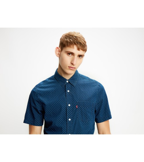 Levis short sleeve shirt Carlton Indigo