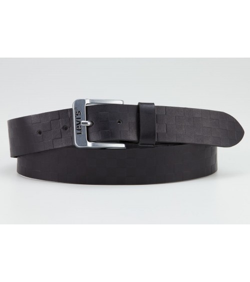 Cinturón de Hombre de piel con Dibujo Levi´s Embossed Free Logo en la Hevilla