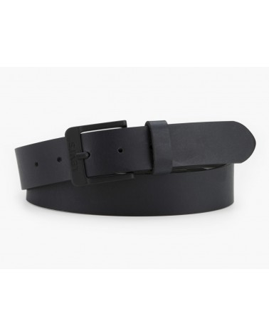 LEVIS Leather Belt FREE GUN METAL