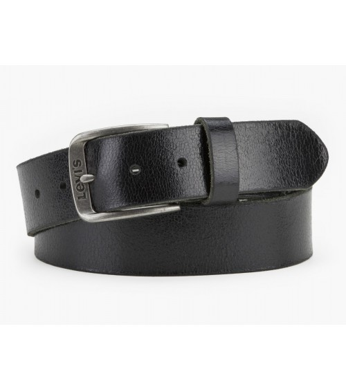 LEVI´S Leather Belt Levi's Buckle Top Quality Male Black or Brown