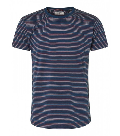 STRIPED MEN'S SHIRT NO EXCESS SHORT SLEEVE