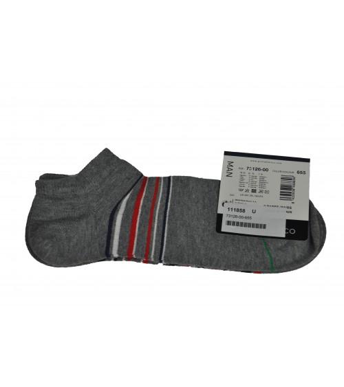 2 pack of sport cotton socks Punto Blanco geometrical print