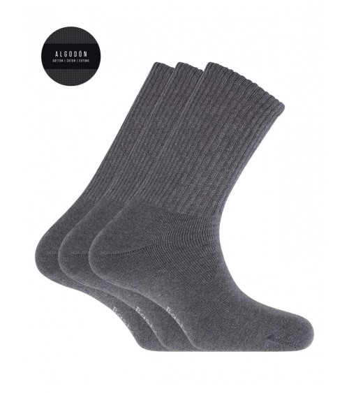 PACK 3 CALCETINES SPORT PUNTO BLANCO