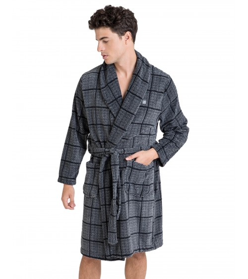 MAN'S LONG CHECKED WINTER MASSANA GOWN
