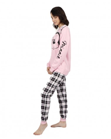 PIJAMA DONA DISNEY MINNIE CHECK