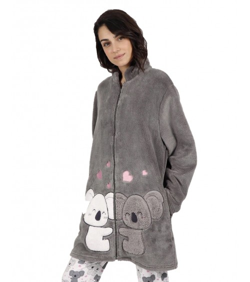 WINTER WOMEN'S GOWN ADMAS LOVE KOALA