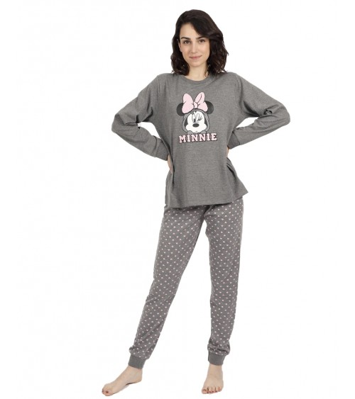 PIJAMA M/LL.DISNEY MINNIE HEARTS
