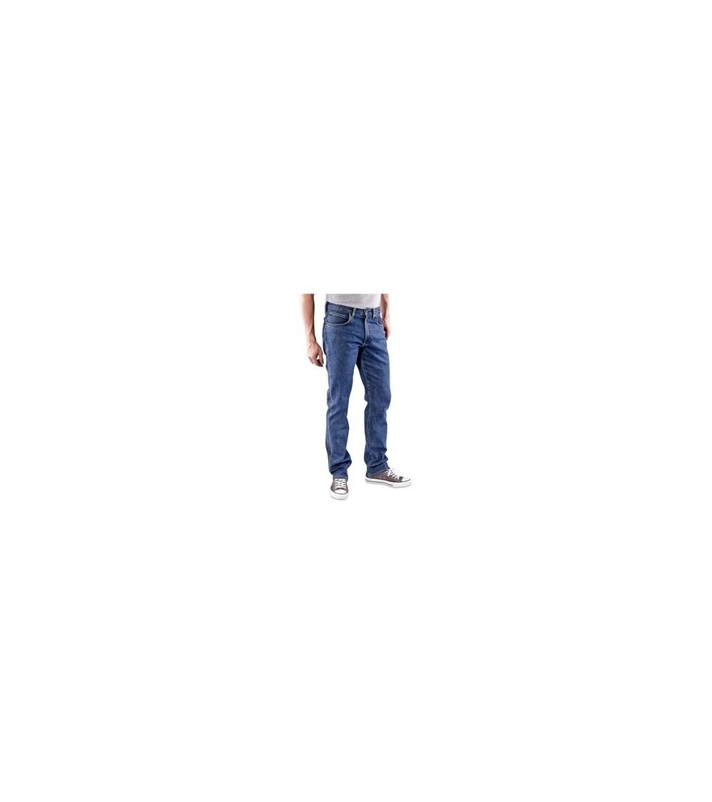 f2440824 Mens Lee Jeans Original BROOKLYN STRAIGHT Zip Fly Denim Trousers