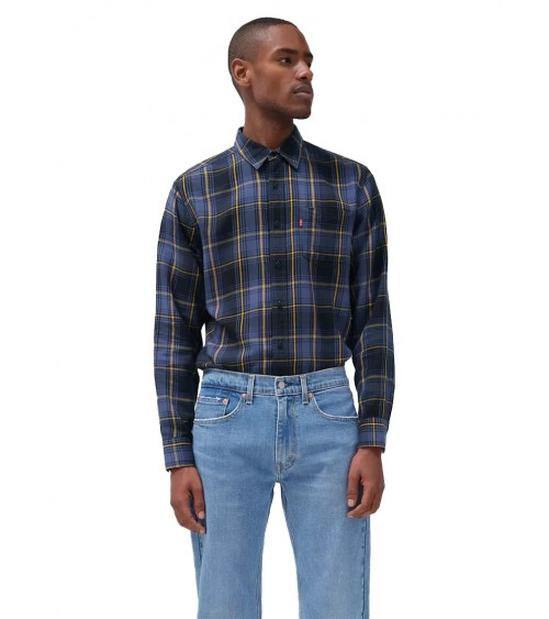LEVIS LONG-SLEEVED CHECKED HOT FABRIC SHIRT