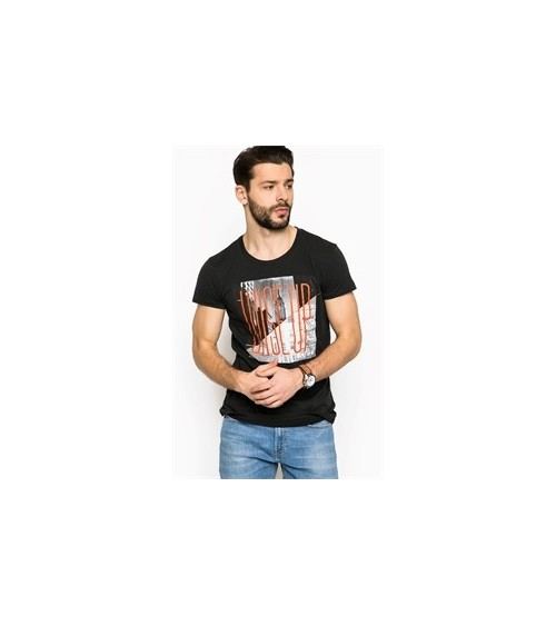 "Camiseta manga corta LEE SLIM FIT 100% Algodón ""WISE UP TEE"""
