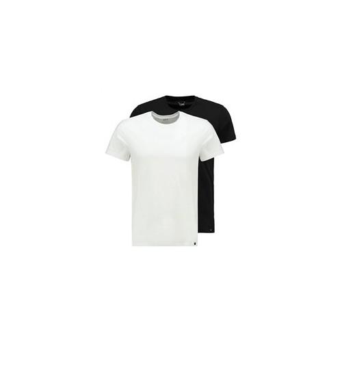 LEE Pack 2 Camisetas Hombre SLIM FIT Cuello Redondo 100% Algodón
