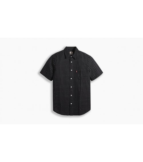 MEN'S LEVIS SHORT SLEEVE SHIRT WITH DITZY SUN PRINT