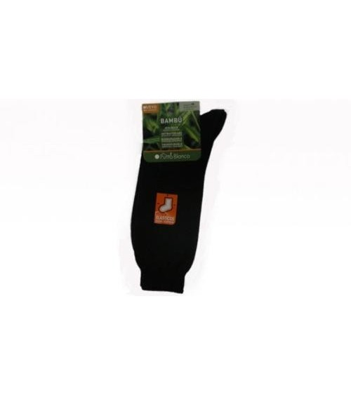 Men's Socks PUNTO BLANCO Ecological BAMBOO Plain Sock Stockings