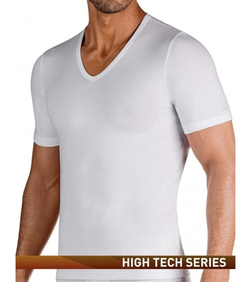 THERMAL SHORT SLEEVES SHIRT IMPETUS THERMO V-NECK WHITE or BLACK
