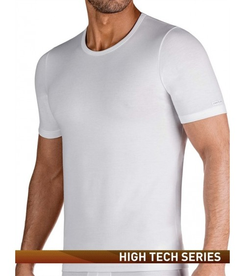 MEN THERMAL SHORT SLEEVES SHIRT IMPETUS THERMO CREW NECK WHITE or BLACK