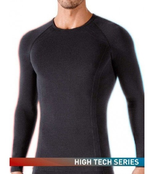 SEAMLESS MEN LONG SLEEVES SHIRT IMPETUS THERMO ACTIVE RUNINNIG SKYING