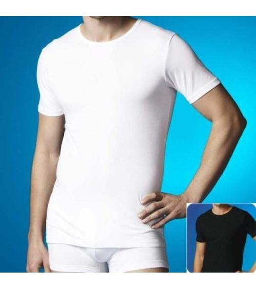Camiseta Manga Corta Hombre ABANDERADO TERMALTECH Blanca, Negra o Gris